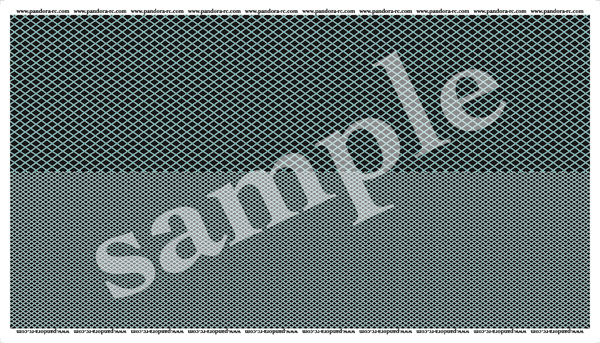 3D Cross Mesh Decal (Plating) [VGP-610]